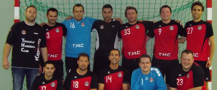 L'équipe du Tinqueux Handball Club